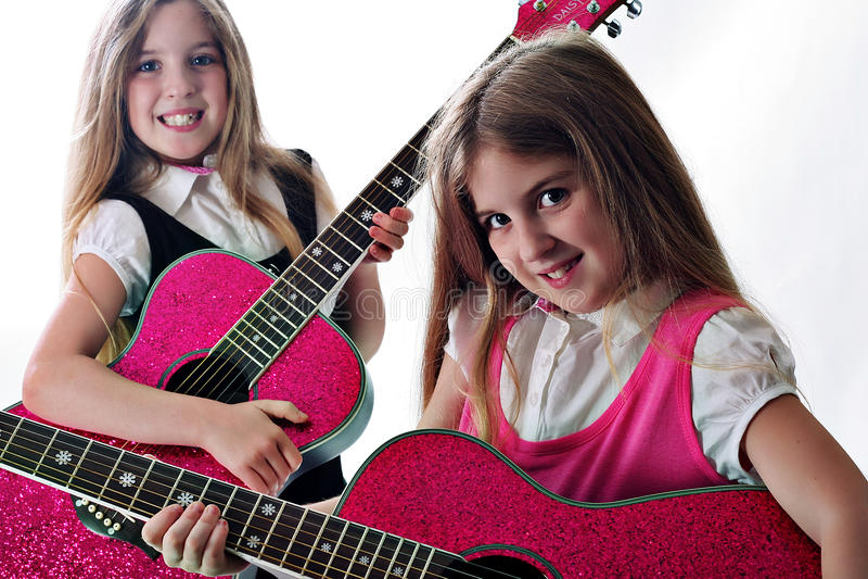 De zusters van Rockin royalty-vrije stock afbeelding
