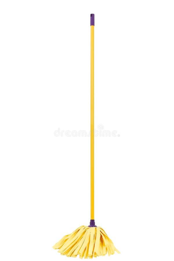 De zwabber van de vezel stock afbeelding