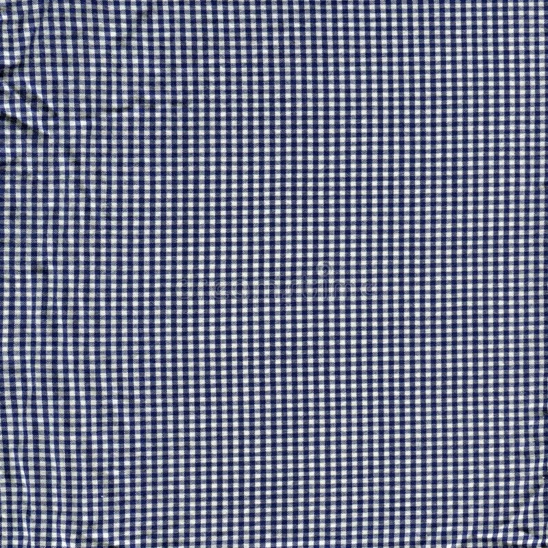 De zwart-witte textuur van de plaidstof stock fotografie