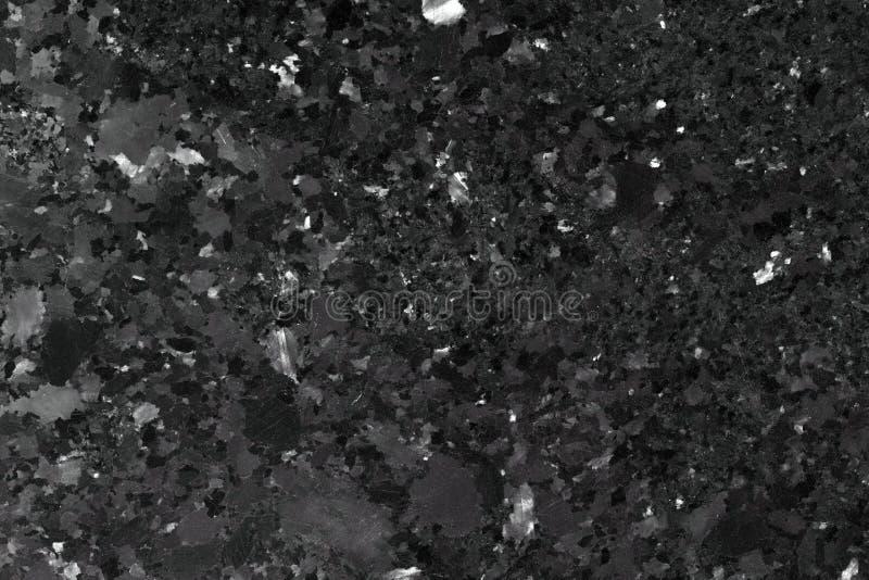 De zwarte Achtergrond van de Granietsteen royalty-vrije stock afbeelding