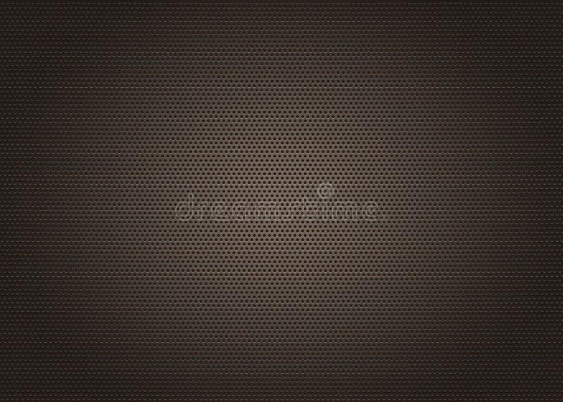 De zwarte achtergrond van het metaalnet royalty-vrije stock afbeeldingen