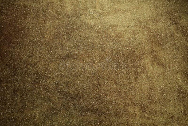 De zwarte concreted muur voor binnenland of openlucht blootgesteld oppervlakte opgepoetst beton Het cement heeft zand en steen va royalty-vrije stock foto's