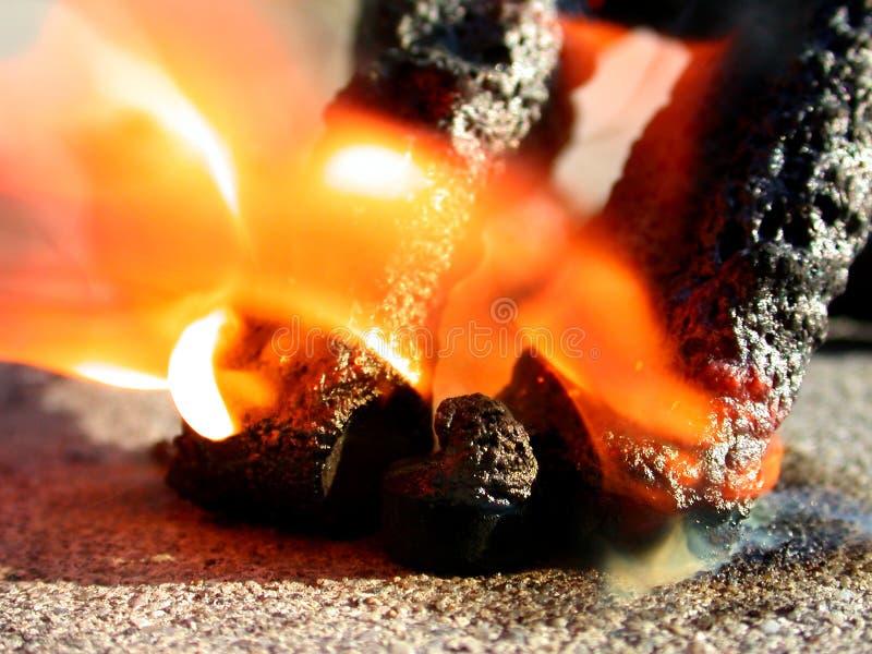 Download De Zwarte Slangen Van Het Vuurwerk Van De Brand Stock Afbeelding - Afbeelding: 42147