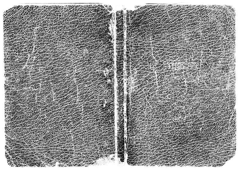 De zwarte textuur van het Leer stock foto's