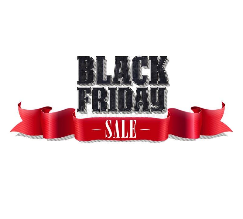 De zwarte Verkoop van de Vrijdag stock foto