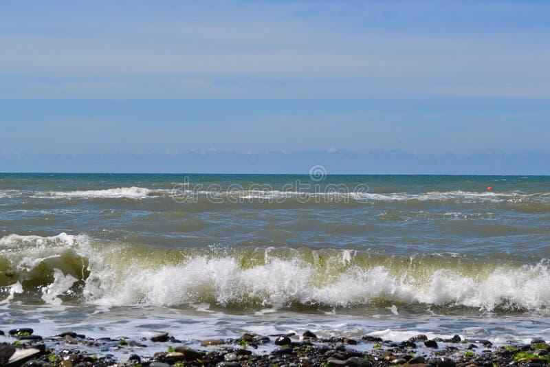 De Zwarte Zee in de Atlantische Oceaan royalty-vrije stock foto