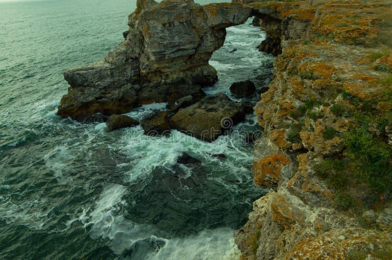 De Zwarte Zee van Bulgarije stock fotografie