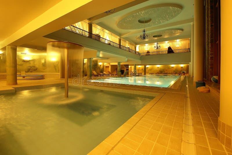 De zwembaden van het koninkrijk royalty-vrije stock foto's
