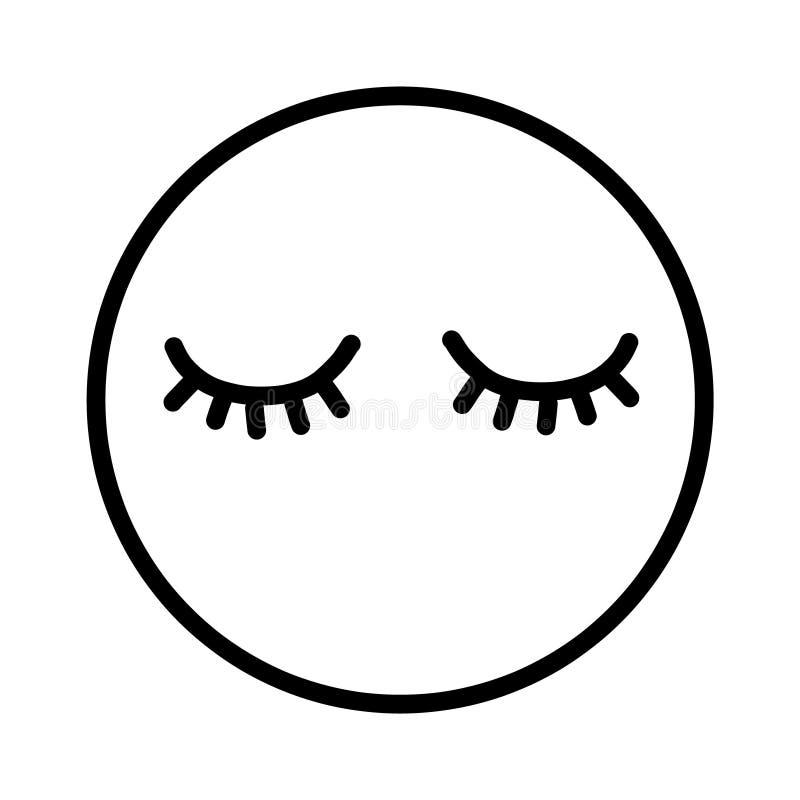 De zwepen overhandigen getrokken logotype zwart-wit royalty-vrije illustratie