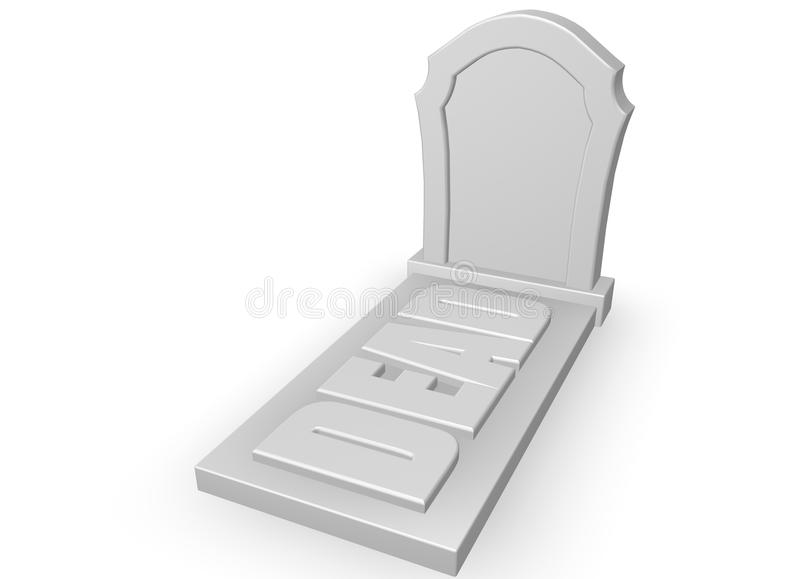 Download Dead stock illustration. Illustration of funeral, tomb - 21502019