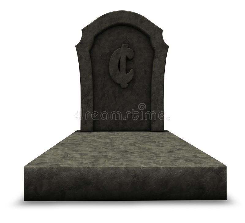 Download Dead cent stock illustration. Image of cemetery, burial - 29436827