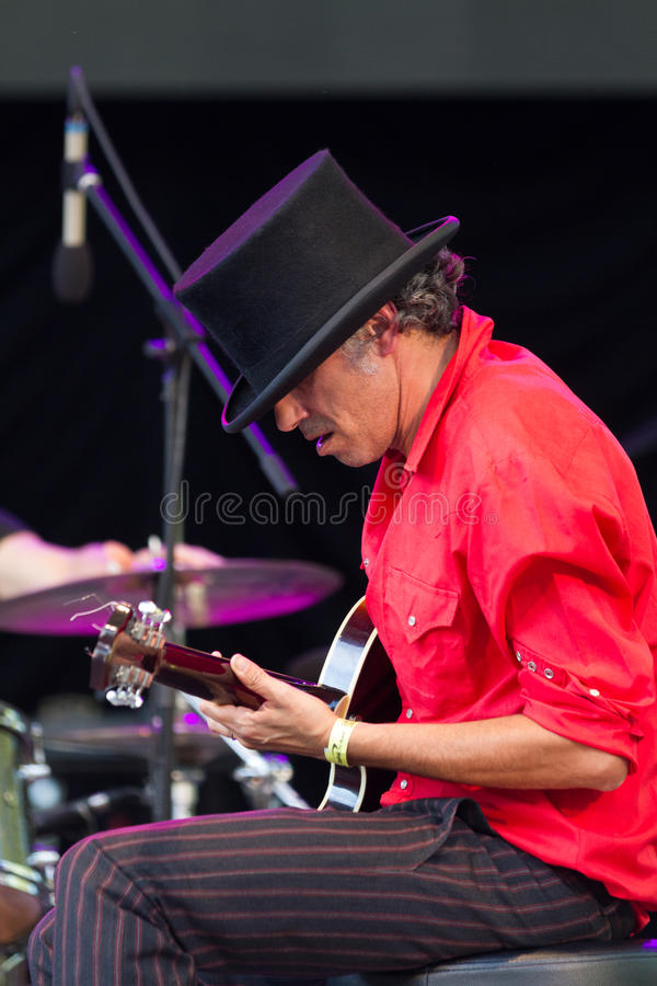 """""""Dead Comboâ€- bei SummerStage in NYC's-Central Park 2017 stockfotos"""