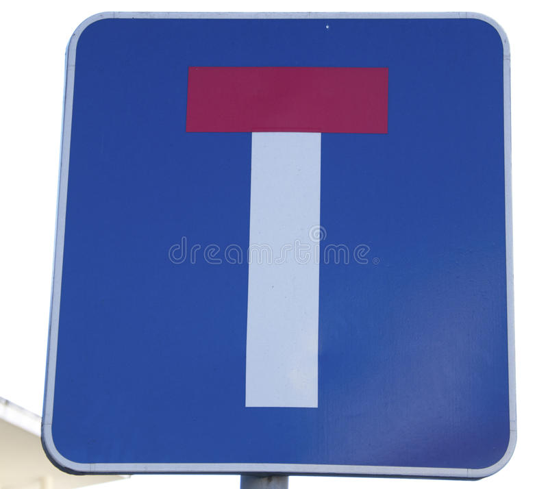 Download Dead end sign stock photo. Image of paint, dead, control - 23312712
