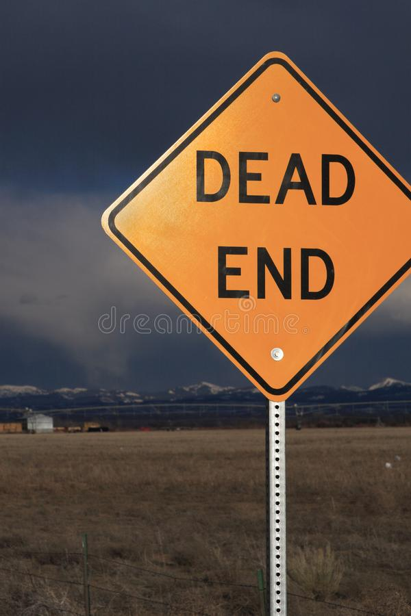 Dead End Sign Free Stock Photo