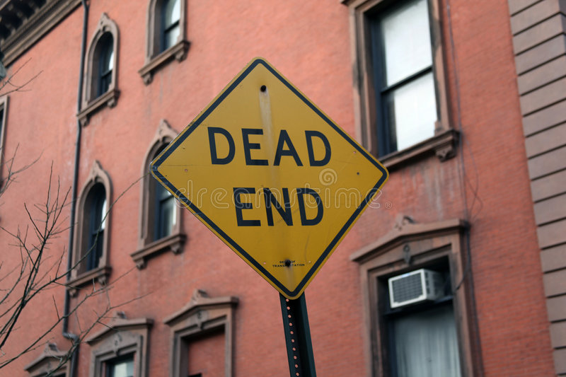 Dead End Sign Royalty Free Stock Photos