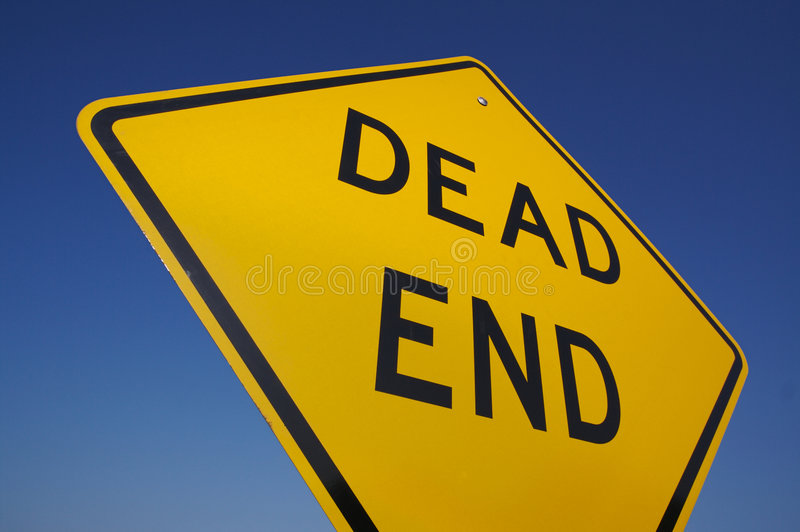 Download Dead End Traffic Sign stock photo. Image of orange, caution - 2979390