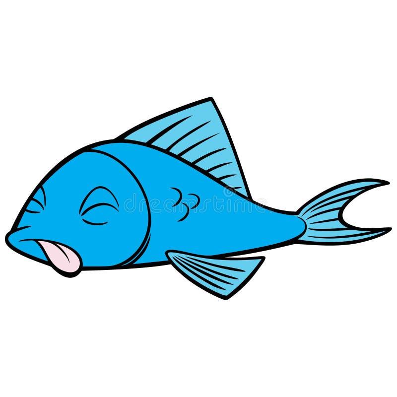 dead fish stock vector illustration of tide mammal 113184056 rh dreamstime com dead fish clipart
