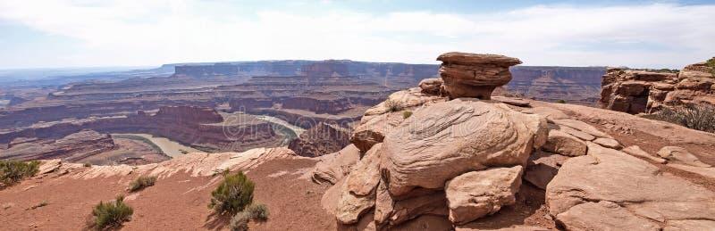 Dead Horse Point, Colorado river, Utah, USA. stock image