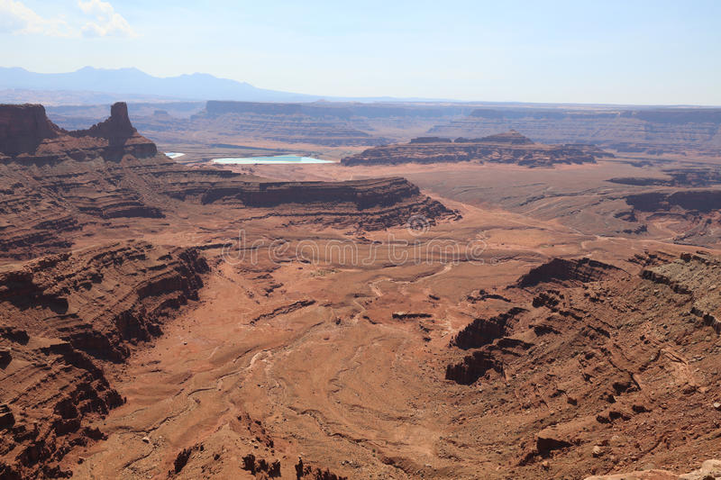 Dead Horse Point State Park. In Utah. USA royalty free stock photos