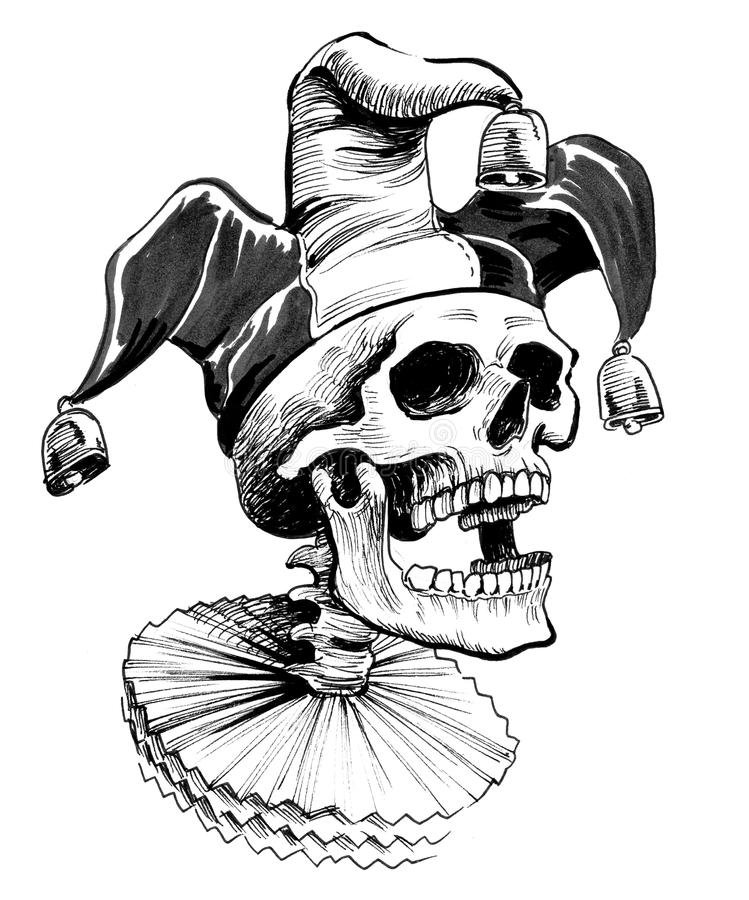 Free Dead Jester Royalty Free Stock Photo - 111370665