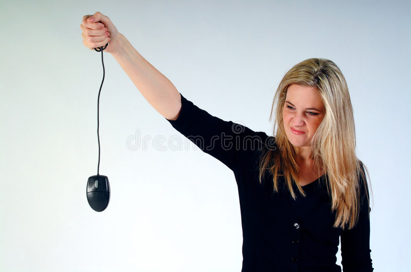 Download Dead Mouse stock image. Image of gorgeous, computer, holding - 276217