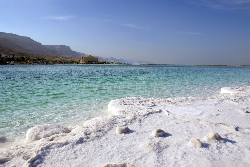 Download Dead sea stock image. Image of crystals, blue, coast, oxide - 5144839