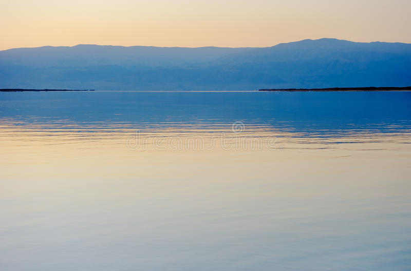 Download The Dead Sea before dawn stock photo. Image of mountains - 28655784