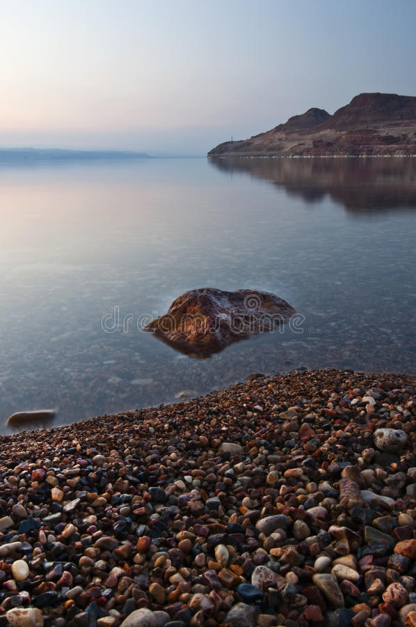 Free Dead Sea Dusk Stock Photo - 9379520