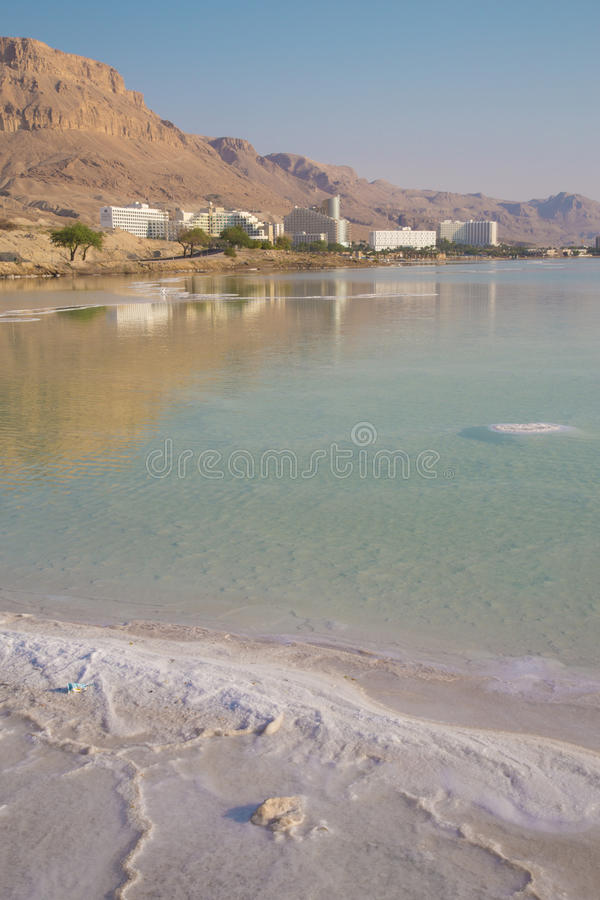 Dead Sea, Ein Bokek royalty free stock photography