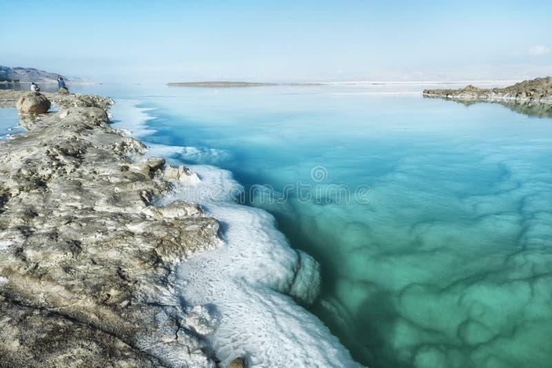 Dead sea in Israel stock image