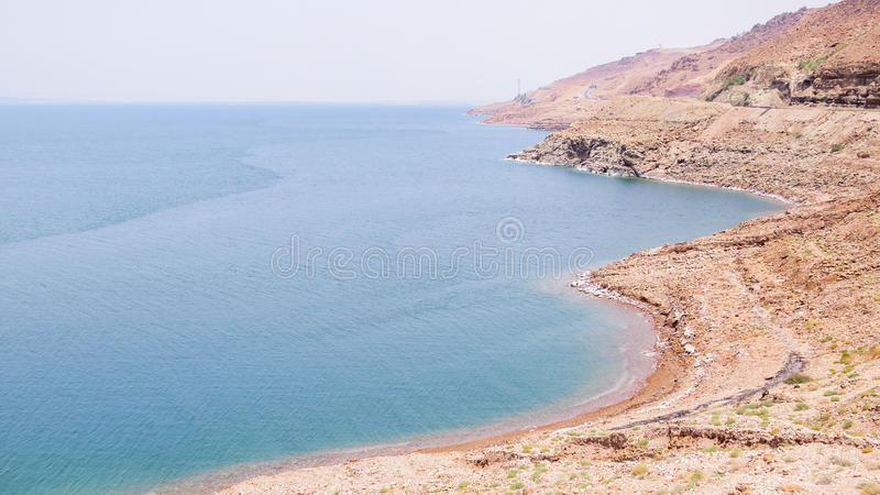 Dead Sea in Jordan royalty free stock photography