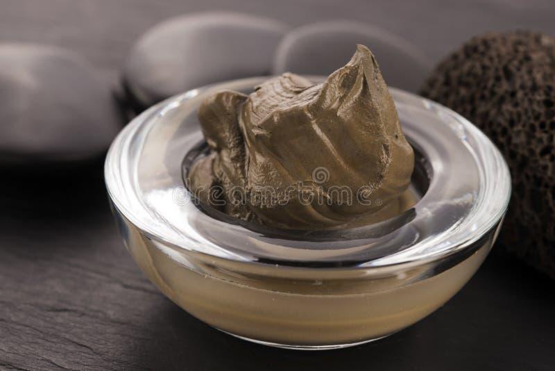 Dead Sea mud royalty free stock image