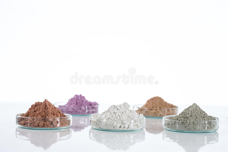 Dead Sea mud in a dish royalty free stock photos