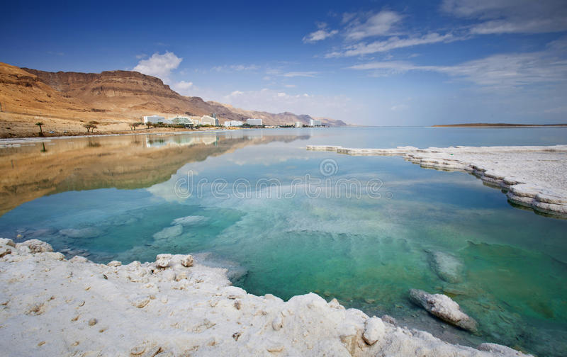 Dead sea stock image