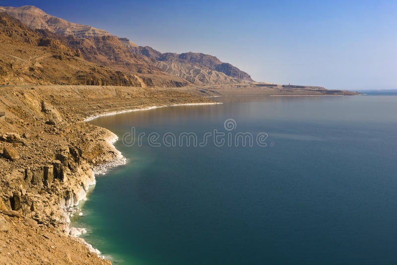 The Dead Sea scenery royalty free stock photography