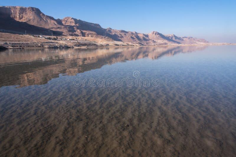 Dead Sea View, Ein Bokek, Israel Stock Image