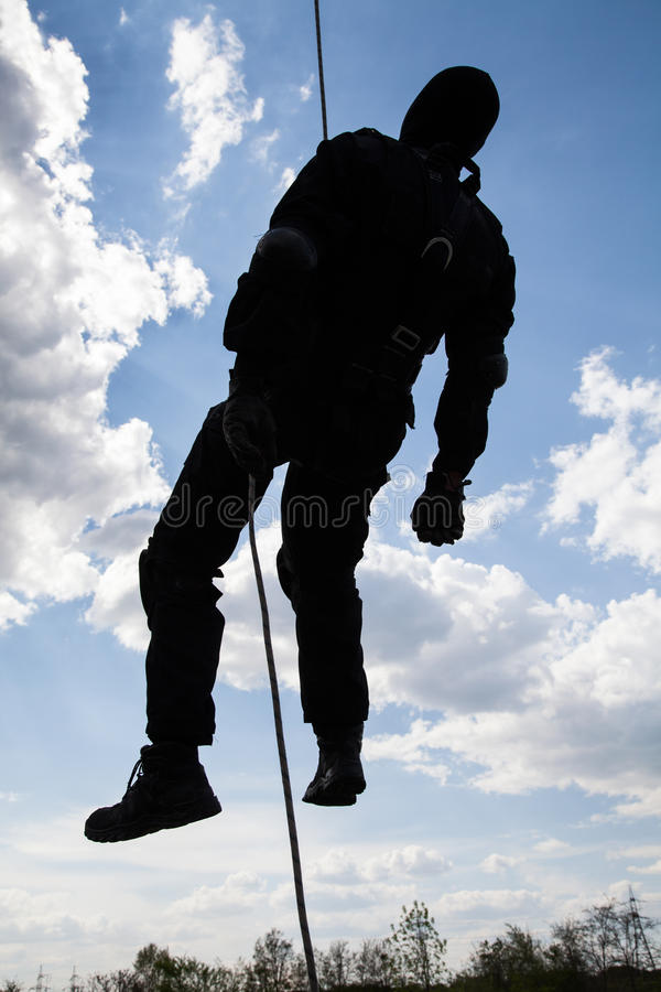 Dead soldier royalty free stock photos