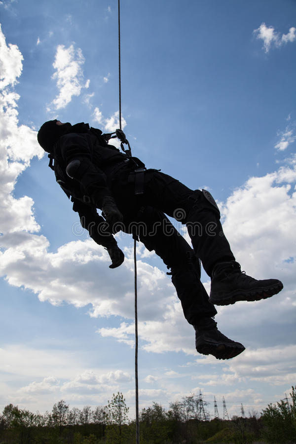 Dead soldier royalty free stock images