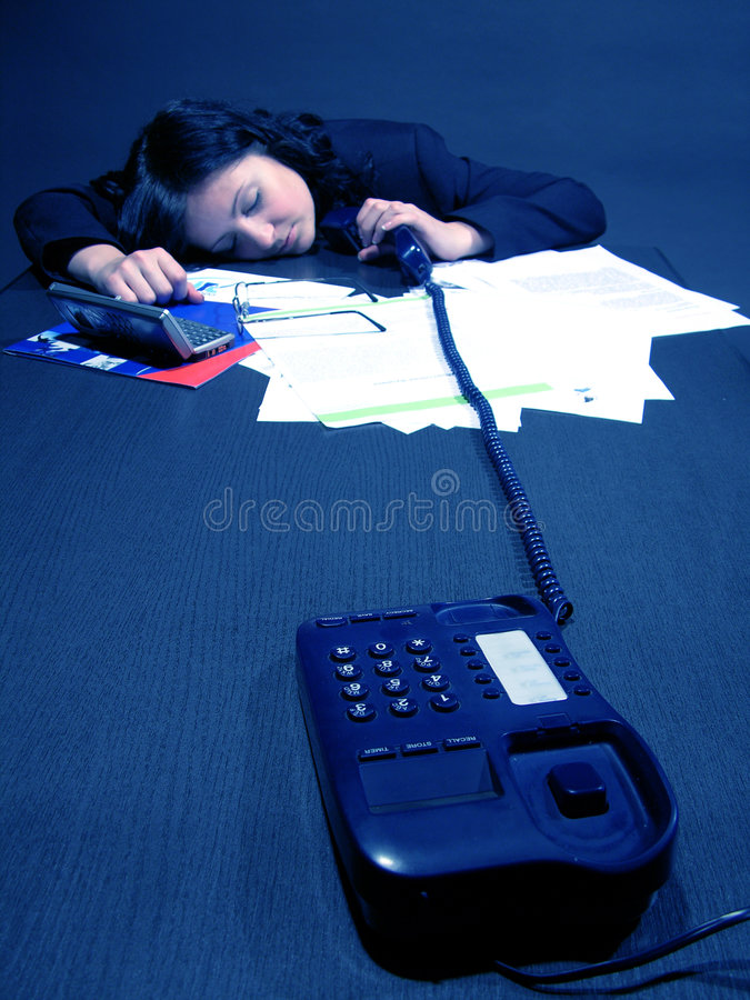 Dead tired stock photography