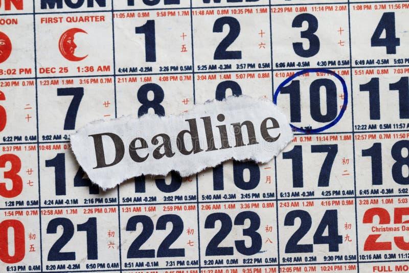 Download Deadline stock image. Image of organization, year, deadline - 27428365