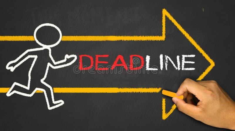 deadline stock afbeeldingen
