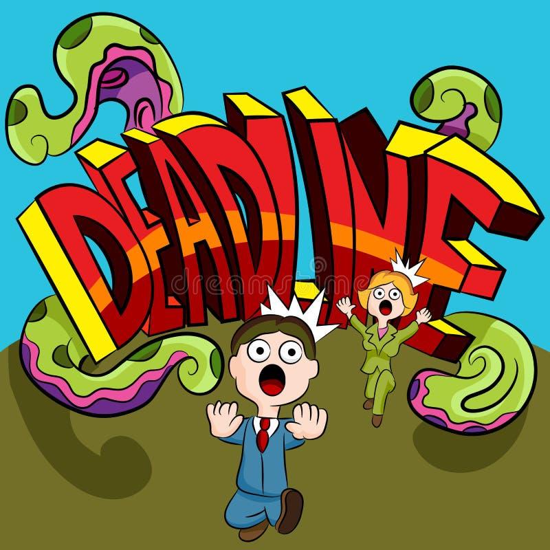 Free Deadline Monster Stock Image - 42274801