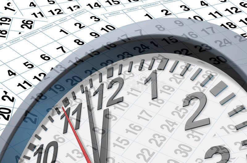 Download Deadlines and time stock illustration. Illustration of organization - 20974009