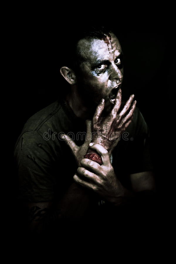 Download Deadly Midnight Snack stock image. Image of ghoul, death - 24038911