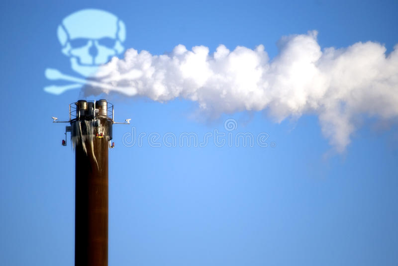 Deadly Smoke Royalty Free Stock Images