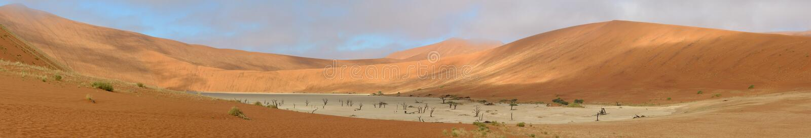 Deadvlei Panorama 8 stockfoto
