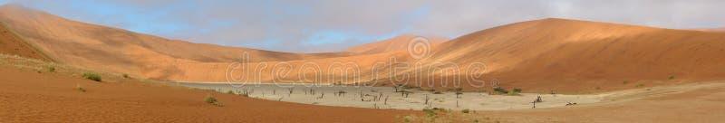 Deadvlei panorama 8 stock photo
