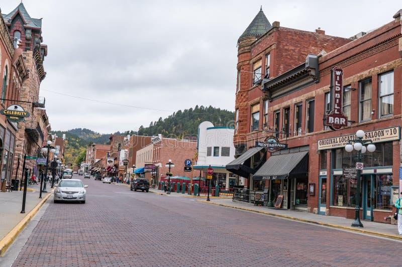 Deadwood, South Dakota stock image