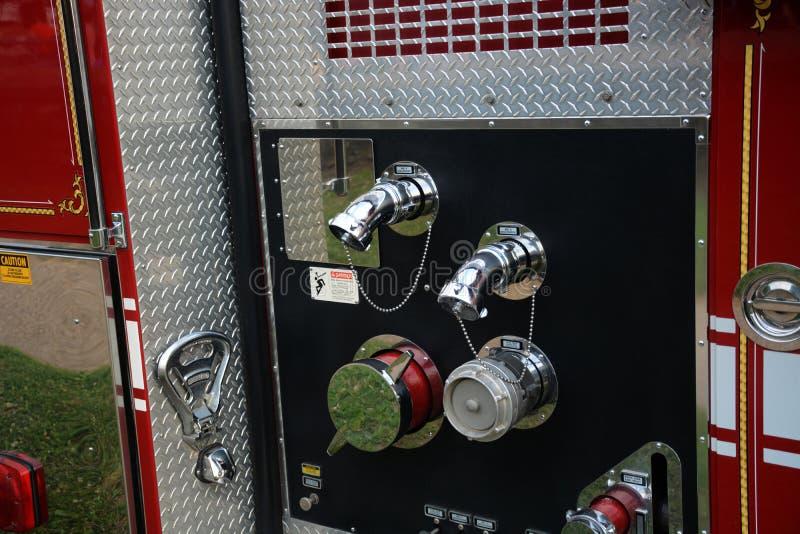 Deail пожарной машины стоковое фото rf