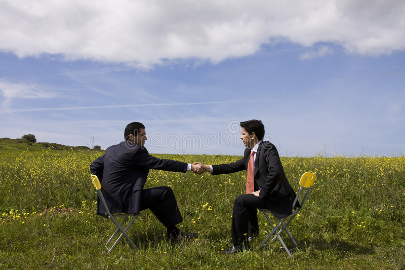 Download The Deal stock image. Image of meet, greeting, businessman - 4943267